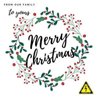 Wishing you a very Merry Christmas and a happy and healthy New Year! 🎄🎉